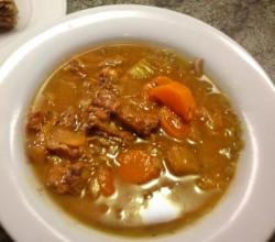 Simple Oxtail Ragout Stew