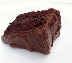 Ski Tip Chocolate Cake