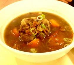Slow-Cooked Oxtail Soup