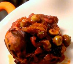 Slow Braised Chicken with Olives