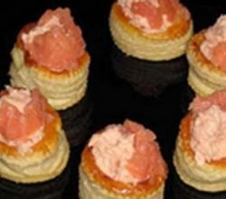 Smoked Salmon Vol au Vents