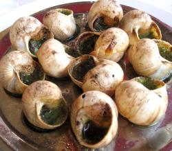 Snails in Garlic Butter