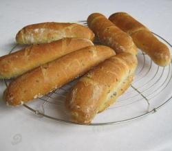 Soft Breadsticks With Fennel Seeds