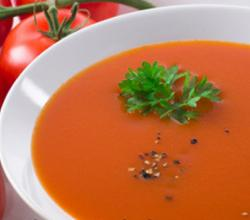 Tomato Soup with Mixed Vegetables