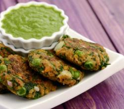 Soya and Green Peas Cutlet (Healthy Snack)