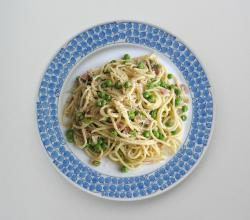 Spaghettini With Peas