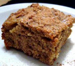 Spicy Applesauce Cake