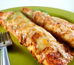 Spicy Bean Enchiladas