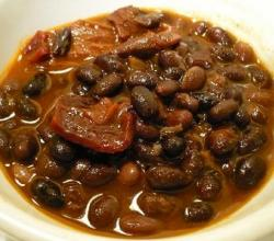 Spicy Black Beans and Tomatoes
