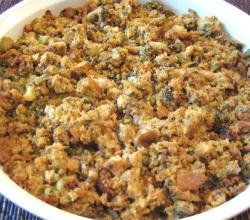 Spicy Cornbread Stuffing