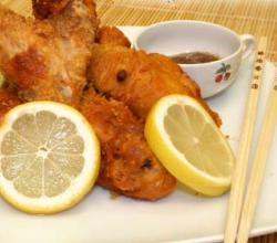 Spicy Fried Chicken with Lemon