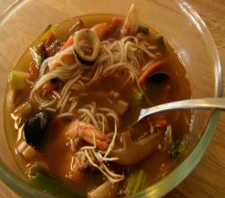 Pan Asian: Spicy Korean-Chinese Seafood Soup (Jjampong)