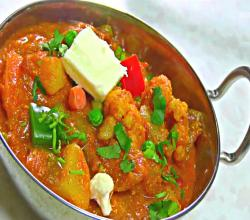 Veg Tikka Masala - Spicy Vegetable Curry