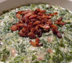 Spinach with Sour Cream