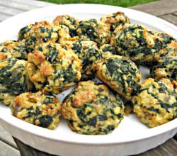 Spinach Party Balls