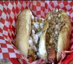 Texas Hots (West NY Style Hot Dog with a Greek Style Sauce)