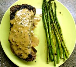 World Famous Steak Au Poivre