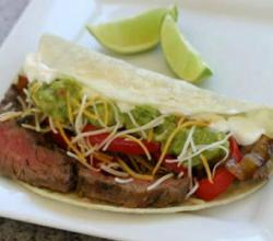 Steak Fajitas with Skirt Steak
