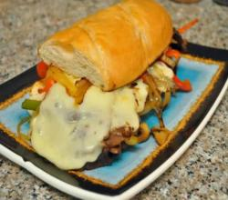 Easy Cheese Steak Sandwich