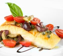 LA weight loss-Steamed Halibut