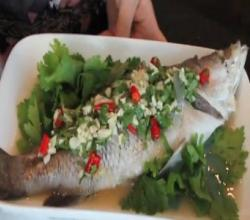 Steamed Fish with Lime | Pla Neung Manao -- Hot Thai Kitchen!