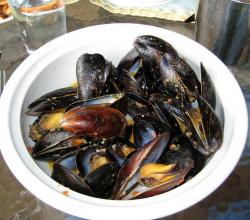 Steamed Mussels In Broth