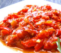 Stewed Red Peppers