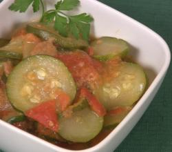 Quick Zucchini and Tomatoes