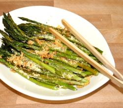 Stir Fried Asparagus A La Lemon