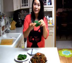 Stir Fry : Soondae Bokeum (Spicy Korean Stir Fry Blood Sausage) : Korean Food : CHOPCHOP