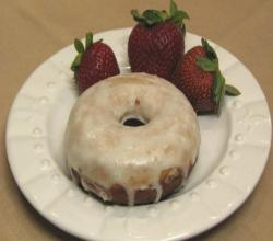 Lynn's Strawberry Glazed Doughnuts