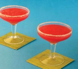 Strawberry Margarita by Tarla Dalal