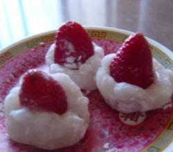 Whole Strawberry Mochi