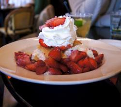 Warm Strawberry Shortcake