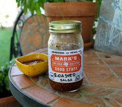Salsa Saturday - Mark's Good Stuff Roasted Salsa