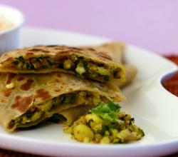 Stuffed Cauliflower Parathas