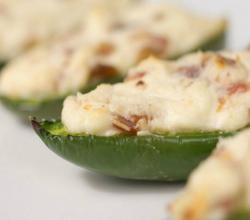 Stuffed Cream Cheese Jalapenos