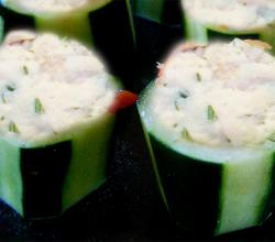 Stuffed Cucumber Salad