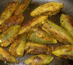 Chatpata Stuffed karela