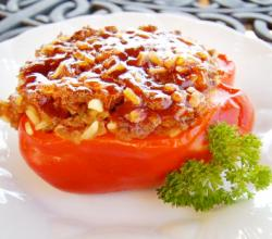 Spicy Hot Stuffed Peppers