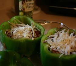 Coleslaw-Stuffed Peppers