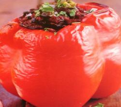 Hot Stuffed Mexican Peppers