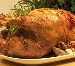 Roast Turkey With Pine Nut Stuffing