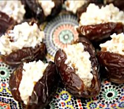 Savory and Sweet Stuffed Dates