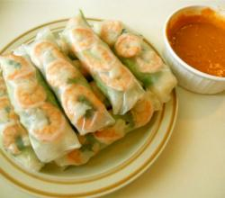 Pan Asian: Summer Rolls (Goi Cuon) -- Vietnam