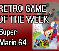 Retro Game of the Week: Super Mario 64 (N64)