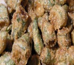 SurfinSapo's Fried Okra Part 1