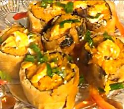 Keith's Turkey Tempura Sushi Rolls