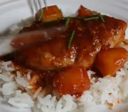 Chinese Take-Out Style Sweet And Sour Pork Tenderloin