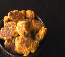 Sweet Potato Cutlets / Indian Sweet Potato Fritters / Yam